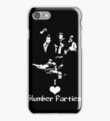 Pulp Fiction Slumber Party! iPhone Case/Skin