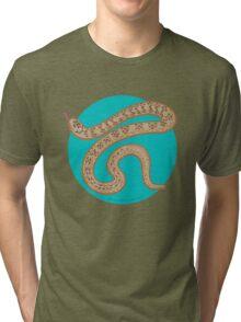 Brown Snake Tri-blend T-Shirt
