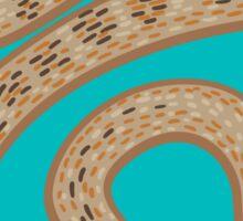 Brown Snake Sticker