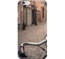 European Bicycle Scene iPhone Case/Skin