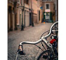 European Bicycle Scene Photographic Print