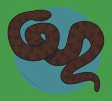 Brown Water Snake Baby Tee