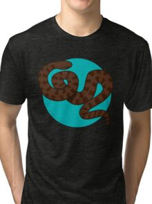 Brown Water Snake Tri-blend T-Shirt