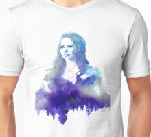 Young Regina Blue Water Color  Unisex T-Shirt
