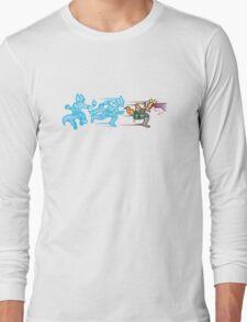 Battlefielded. (Fox) Long Sleeve T-Shirt