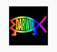 Rainbow Darwin Fish Unisex T-Shirt
