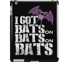 Bats on Bats on Bats iPad Case/Skin