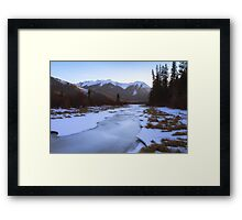 Vermillion Lakes - Banff - Canada Framed Print
