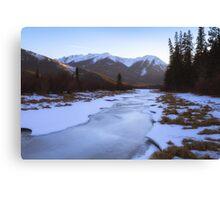 Vermillion Lakes - Banff - Canada Canvas Print