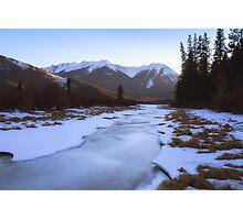Vermillion Lakes - Banff - Canada Photographic Print