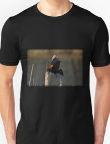Red-Winged Blackbird Flight Unisex T-Shirt