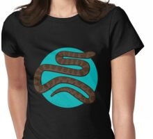 Common Water Snake Womens Fitted T-Shirt