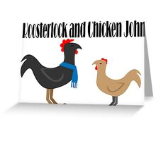 Johnlock in the Hen House Greeting Card