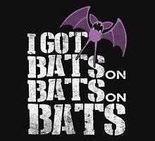 Bats on Bats on Bats Unisex T-Shirt