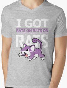 Rats on Rats on Rats Mens V-Neck T-Shirt