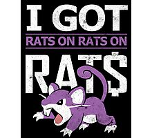 Rats on Rats on Rats Photographic Print