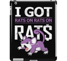 Rats on Rats on Rats iPad Case/Skin