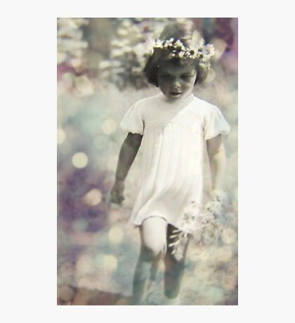 feels like a flower hair day Photographic Print