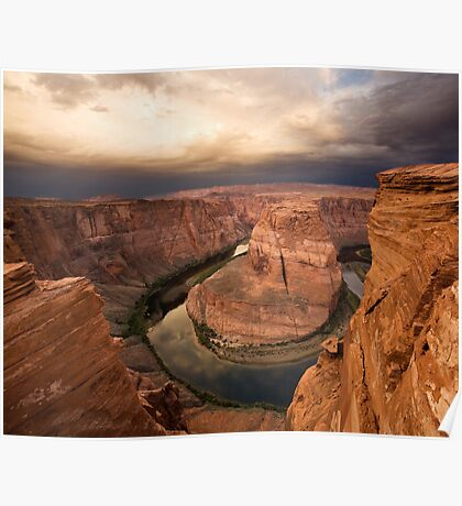Desert Sunrise over Horseshoe Bend Poster