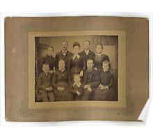 John Steele Finley's Family, Randolph County, IL Poster