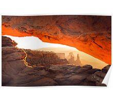 Mesa Arch - Canyonlands - Utah Poster
