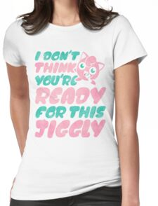 Jiggly Womens Fitted T-Shirt