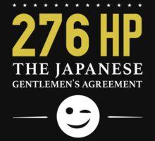 276 Horsepower, The Japanese Gentlemen's Agreement ;) One Piece - Long Sleeve