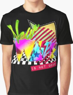 New Wave Is Not Dead Graphic T-Shirt