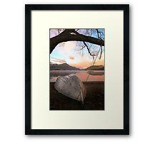 Lake Hayes - Queenstown - NZ Framed Print