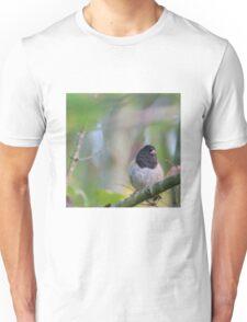 Little Bird in a Pastel Wonderland Unisex T-Shirt
