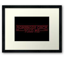 Stranger Ogres Framed Print