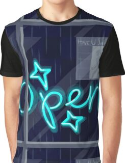 O P E N Graphic T-Shirt