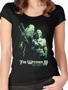The Witcher 8Bit Women's Fitted Scoop T-Shirt