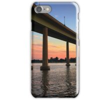 Sunset - Naval Academy Bridge - Annapolis, Maryland iPhone Case/Skin