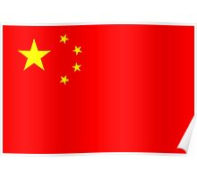 Flag of China Poster