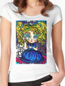 Powerpuff Girls - Bubbles Women's Fitted Scoop T-Shirt