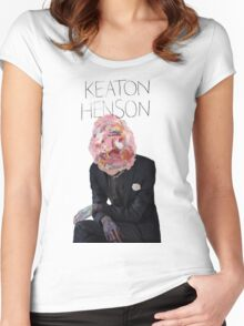 Keaton Henson - Don't Forget Artwork Women's Fitted Scoop T-Shirt