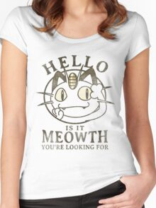 Hello Women's Fitted Scoop T-Shirt