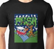 jazz is phish posters ampyang Unisex T-Shirt