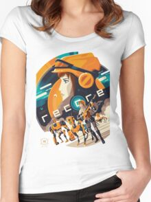 Recore Women's Fitted Scoop T-Shirt