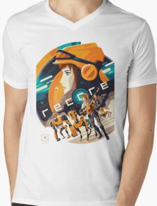 Recore Mens V-Neck T-Shirt
