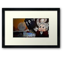 Doctor Who Online Minecraft - 12th Doctor Poster Framed Print