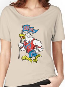 Realtree Patriotic Eagle Mascot  Women's Relaxed Fit T-Shirt