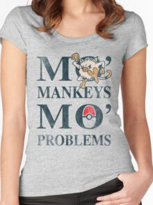 Mo Mankeys Mo Problems Women's Fitted Scoop T-Shirt