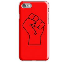 Power Protest Fist iPhone Case/Skin