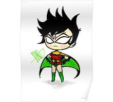 Mini Robin Poster