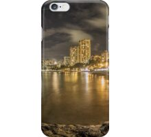 Waikiki Beach in Hawaii iPhone Case/Skin