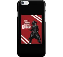 Them Crooked Vultures - Gunman iPhone Case/Skin
