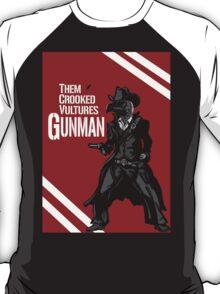 Them Crooked Vultures - Gunman T-Shirt