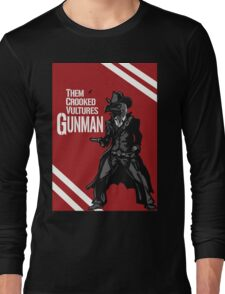 Them Crooked Vultures - Gunman Long Sleeve T-Shirt